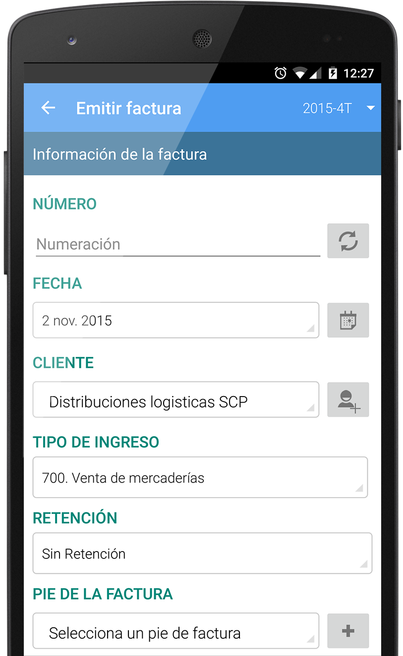 Descarga la App de facturación de Contasimple en Google Play
